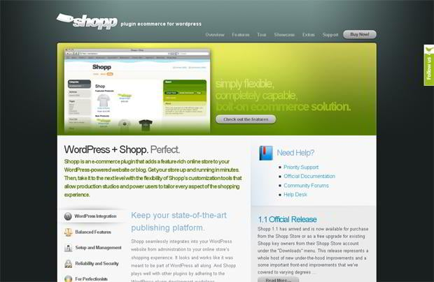 wordpress shopping cart plugin