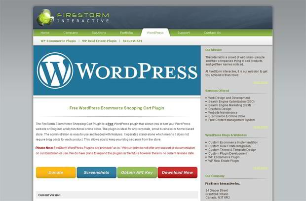wordpress ecommerce solution