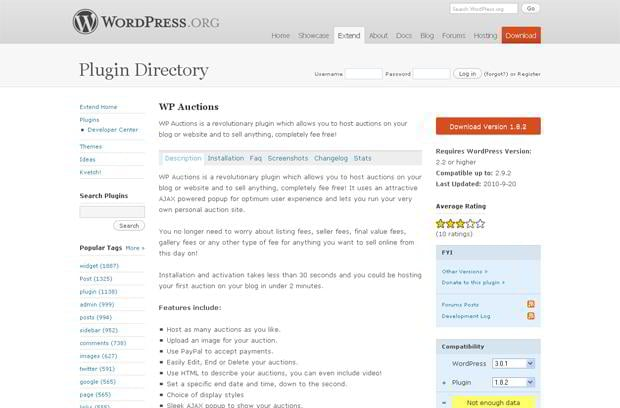 wordpress ecommerce application