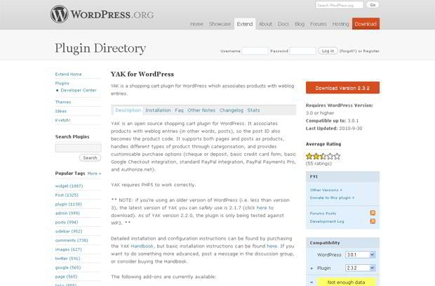 wordpress ecommerce plugins