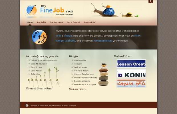 drupal web page design