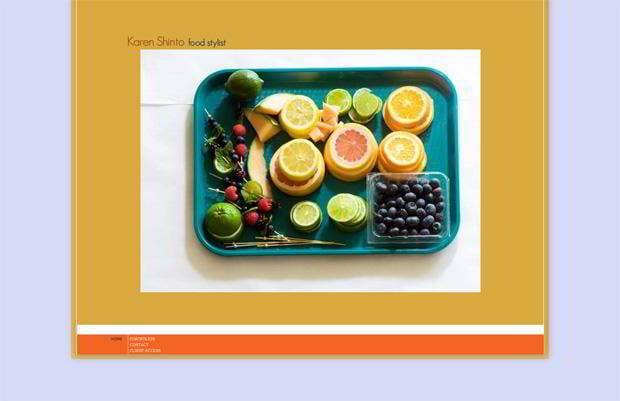 food photo styling