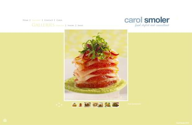 food photography website