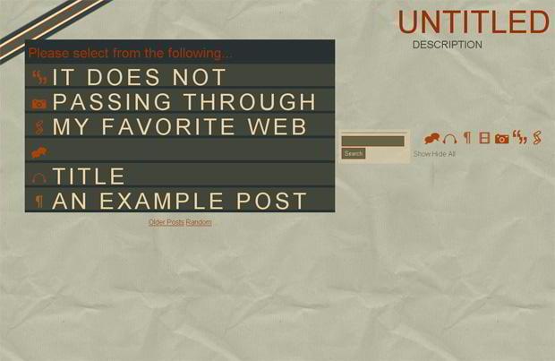 free tumblr template