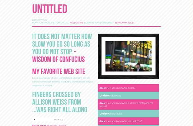 free tumblr blog theme