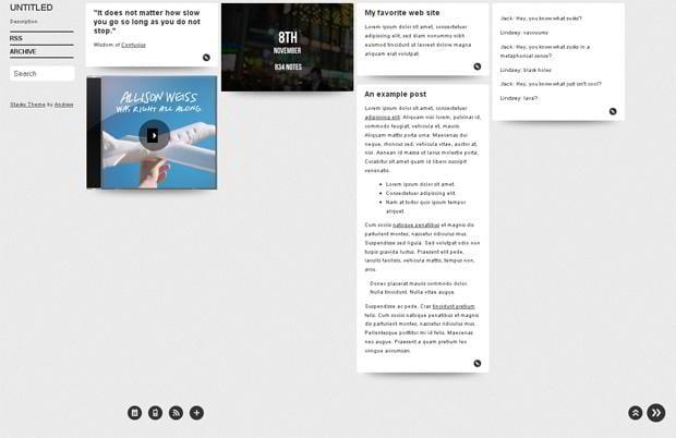 free tumblr templates