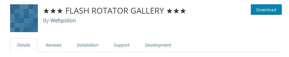 Flash Rotator Gallery