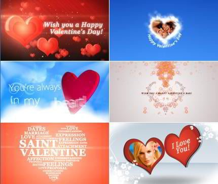 Valentines Day After Effects Video Tutorials