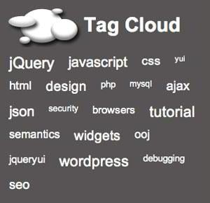 Visually Appealing jQuery Tag Cloud Solutions