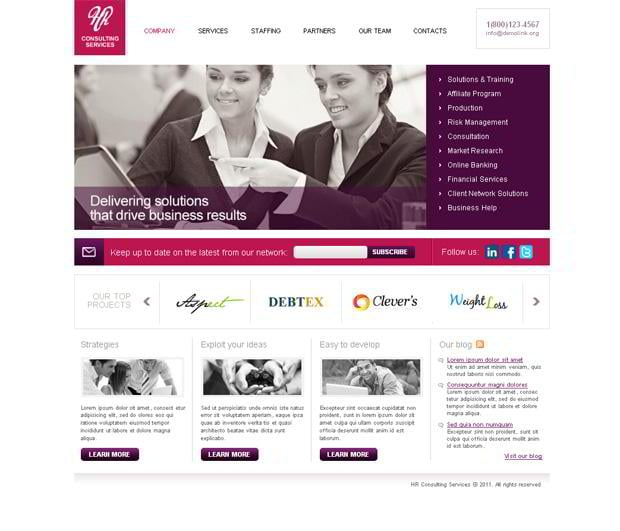 joomla 1.6 web designs