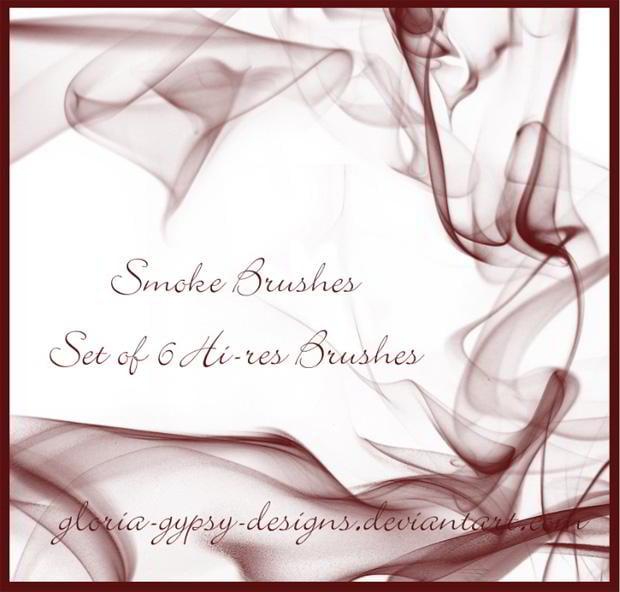 50 Free Smoke Brushes for Photoshop