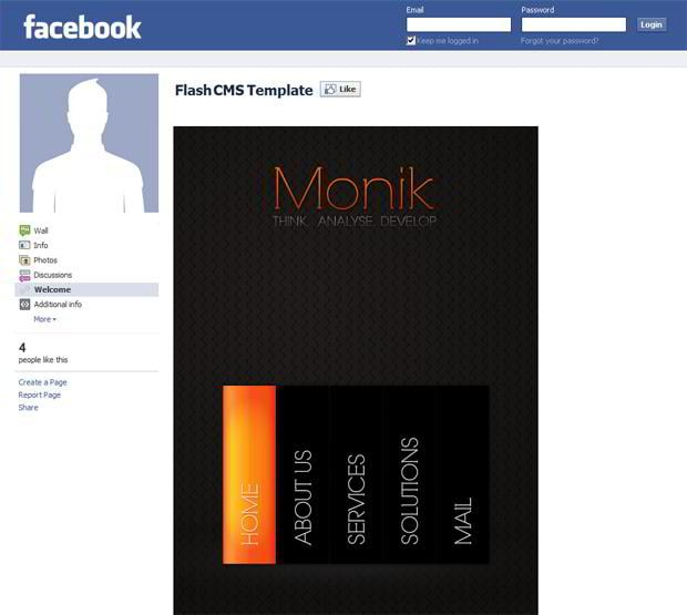 New Facebook Layouts Section On TemplateMonster
