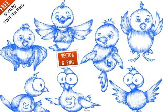 free-hand-drawn-icon-set