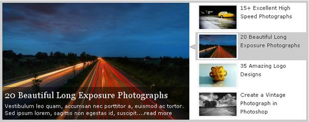 jquery image slider tutorials
