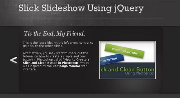 jQuery Slider Tutorials