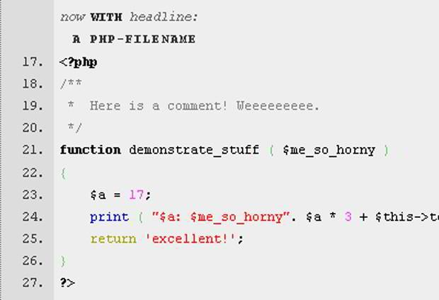 code highlighter plugin