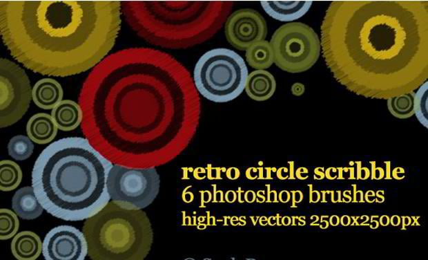 vector circle photoshop brushes