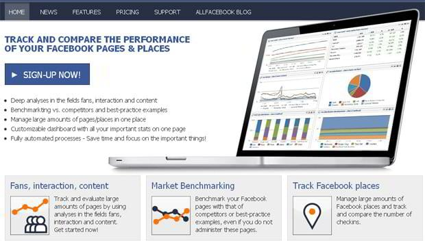 Facebook Page Analytics Tool