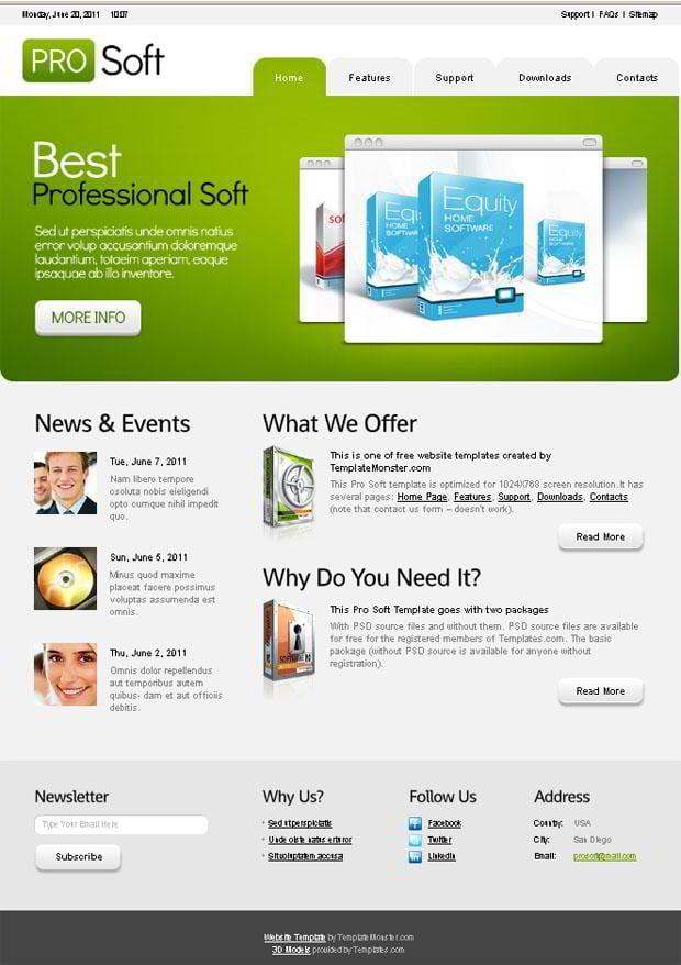 Free Website Templates