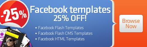 Facebook Templates Discount