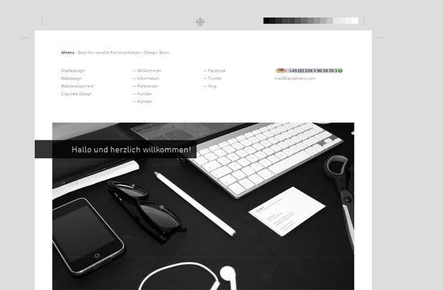 grid website design