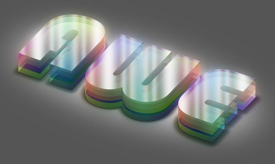 50 Carefully Selected Photoshop Text Effect Tutorials