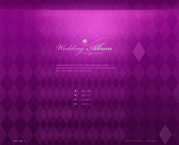 color spectrum website designs