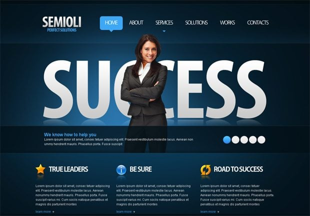 best-selling joomla 1.7 template