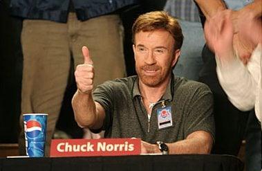 Chuck Norris testimonial