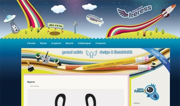 illustrations website design