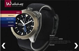 Watches Shop Template