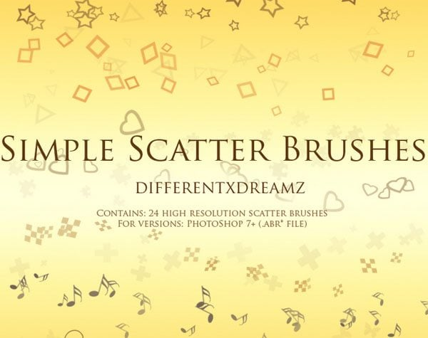 Free Scatter Brushes for Photoshop – Feel the Joy of Creation