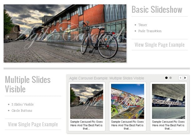 43 jQuery Plugins for Carousel-Type Content Sliding