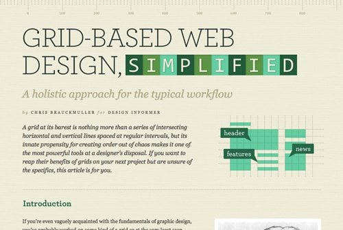 grid based design