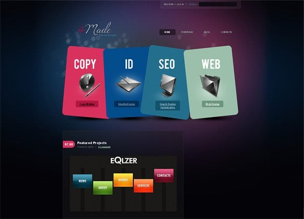 35552 website template
