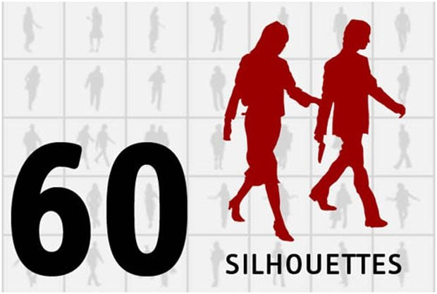 60 Silhouettes