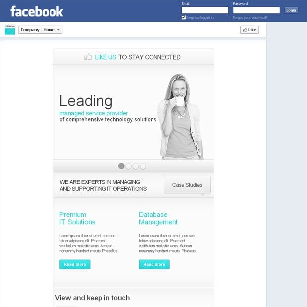 New facebook timeline pages and how we revamp our facebook templates if theres something important we see about the new facebook layout and the templates we develop for it well officially inform you through our social cheaphphosting Images