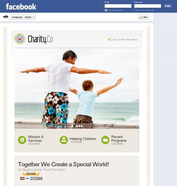 Facebook Templates 2012