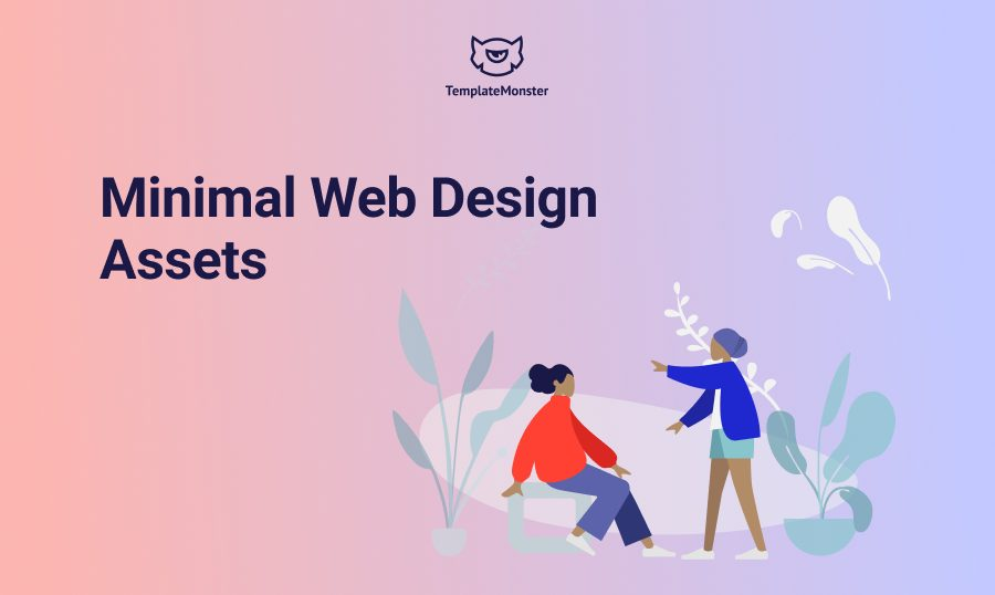 minimal web design featured