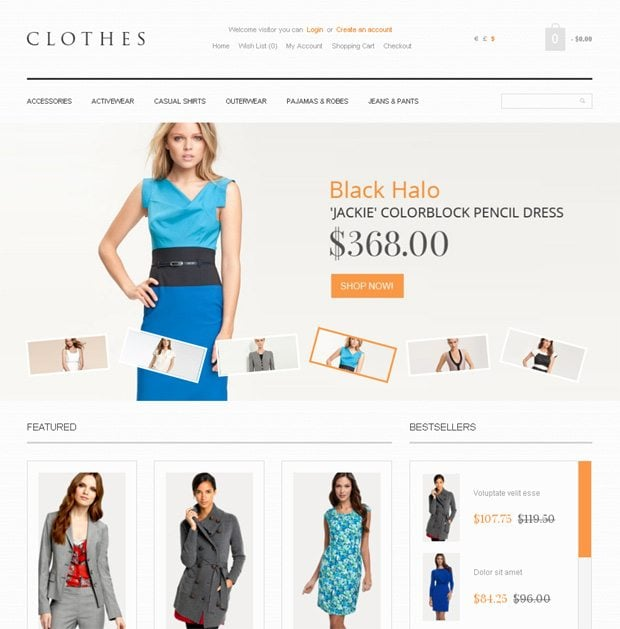 How to open an online clothing store. Clothing stores online