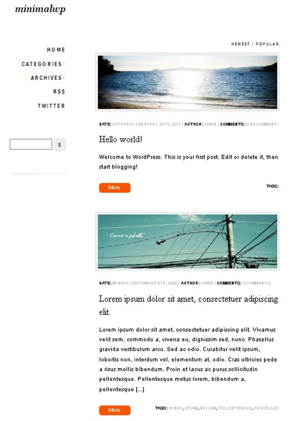 WordPress Theme Tutorials