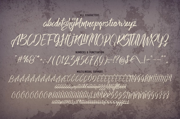 Limber Script & Mockups Font