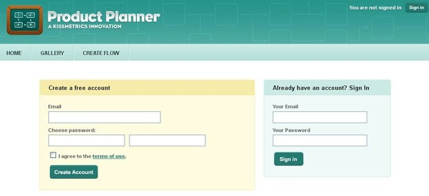 Sign Up Forms Usability Tips