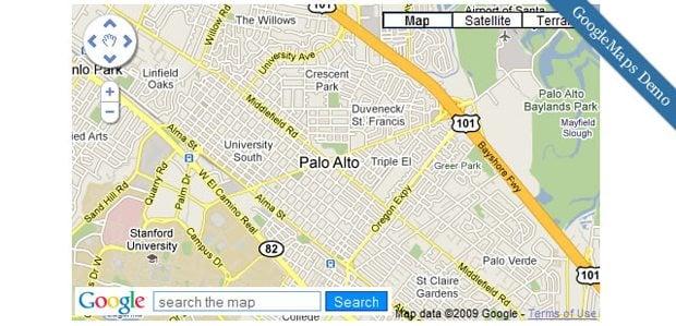 Where Am I Jquery Plugins For Google Maps Embedding