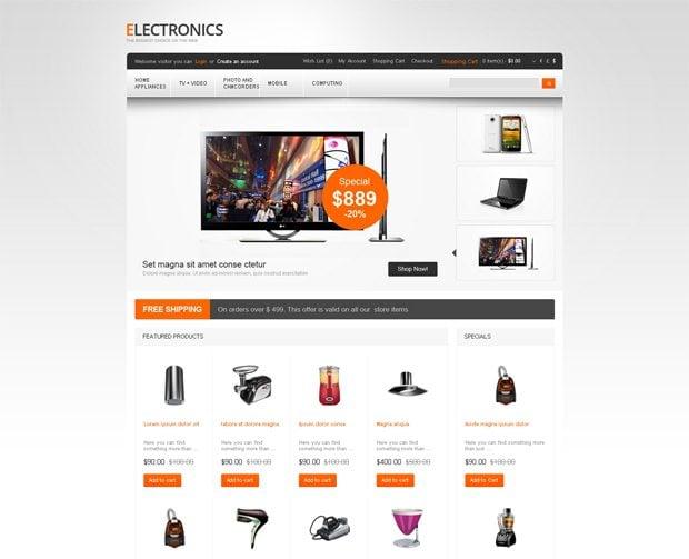 Онлайн-магазин электроники