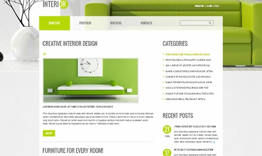 Perfect Decor for Interior Site – Free Joomla Theme