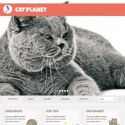 Free Cherry WordPress Theme with Cat Power