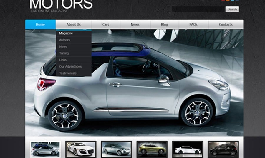 Ready for Your Site – Free Joomla Car Theme