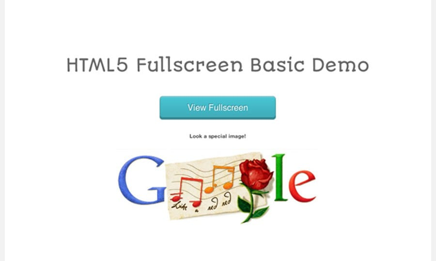 How to Use HTML5 Fullscreen Mode
