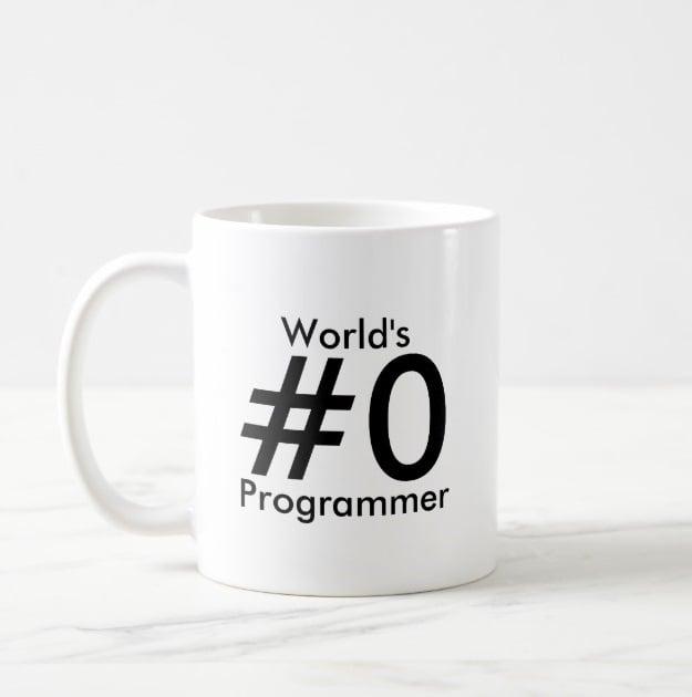 coffee mugs for web developers